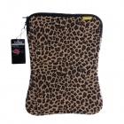 "Yinmaco Universal Protective Neoprene Sleeve Bag 13.3"" MacBook /14"" Below Laptop - Leopard"