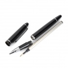 HERO 909 Black Ink Pen + Business Card Case Set - Black