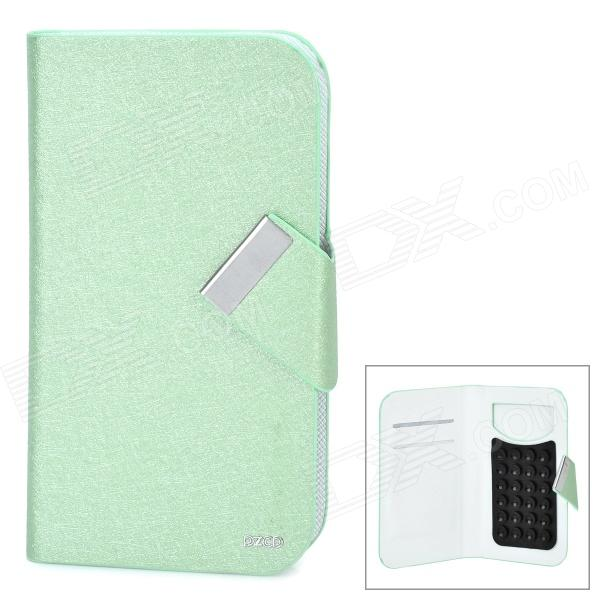 PZCD PZ-65 Stylish Protective PU Leather Case w/ Suction Cup for 4.3~4.8