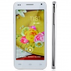 "C2 4.5"" Android 4.2.2 Bar Phone w/ 512MB RAM, 4GB ROM, Camera, Wi-Fi - White + Silver"