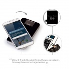 MOCREO Qi-Enabled Wireless Charger Charging Pad w/ 8000mAh Power Bank Battery Packs - Black