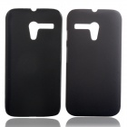 Protective Glaze PC Back Case for  Motorola G XT937C / XT1028 / XT1031 / XT1032 - Black