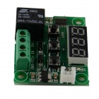 "0.28 ""LED Red LED Digital Temperature Controller - Green (DC 12V)"