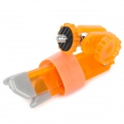 Z09 Convenient Mini Portable Plastic Tripod for Camera - Orange
