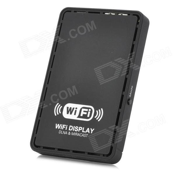 Wireless HD Wi-Fi Display Sharer w/ HDMI for iOS, Android - Black f3s full hd satellite receiver w vfd display support wi fi black