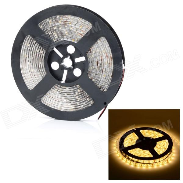 HML Waterproof 72W 7000lm 3300K 300 x SMD 5730 LED Warm White Light Strip - (5M / 12V)