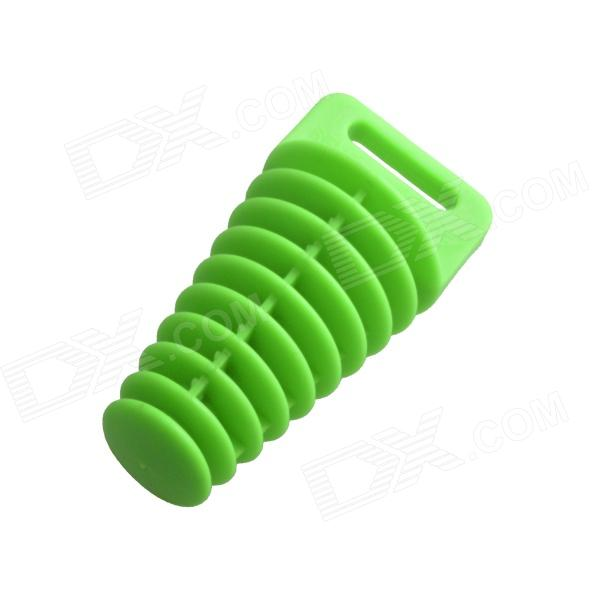 AYA-180 Motorcycle Washing Muffler Protection Waterproof Plug - Green