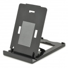 K2 Folding ABS Stand Holder for IPHONE / IPAD / IPOD - Black + Grey