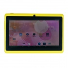 "Q8 7.0"" Android 4.2 Dual Core Touch Screen Tablet PC w/ Wi-Fi TF Double Camera - Yellow"