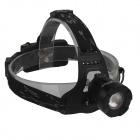 BZRJ-3000 Cree XM-L T6 800lm 3-Mode White Headlamp - Black
