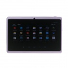 "Q8 7.0"" Android 4.2 Dual Core Touch Screen Tablet PC w/ Wi-Fi TF Double Camera - Purple"