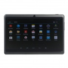 "Q8 7.0"" Android 4.2 Dual Core Touch Screen Tablet PC w/ Wi-Fi TF Double Camera - Black"
