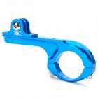 TOZ Professional Aluminum Bicycle Mount Clip for GoPro HD Hero 2 / 3 / 3+ - Blue