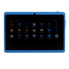 "Q8 7.0"" Android 4.2 Dual Core Touch Screen Tablet PC w/ Wi-Fi TF Double Camera - Dark Blue"