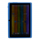 "Q8 7.0 "" Android 4.2 Dual Core berøringsskjerm Tablet PC m / Wi - Fi TF Dobbel Kamera - Dark Blue"