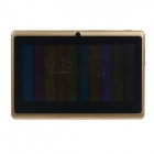 "Q8 7.0"" Android 4.2 Dual Core Touch Screen Tablet PC w/ Wi-Fi TF Double Camera - Gold"