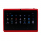 "Q8 7.0"" Android 4.2 Dual Core Touch Screen Tablet PC w/ Wi-Fi TF Double Camera - Red"
