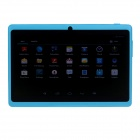 "Q8 7.0"" Android 4.2 Dual Core Touch Screen Tablet PC w/ Wi-Fi TF Double Camera - Light Blue"