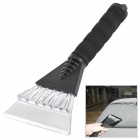 CS-13F01 Plastic Car Snow Shovel Ice Scraper - Black + Transparent