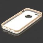 S-What Protective Patterned TPU + PC Back Case for IPHONE 5 / 5S - Coffee
