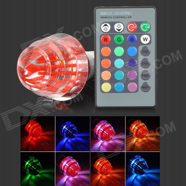LetterFire G-003 Christmas Tree Style E27 3W 30lm 1-LED RGB Light Bulb -  Red (AC 85~265V) letterfire g 003 christmas tree style e27 3w 30lm 1 led rgb light bulb red ac 85 265v