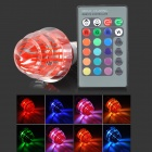 LetterFire G-003 Christmas Tree Style E27 3W 30lm 1-LED RGB Light Bulb -  Red (AC 85~265V)