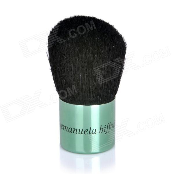 Professional Cosmetic Make-Up Foundation Soft Brush - Green + Black