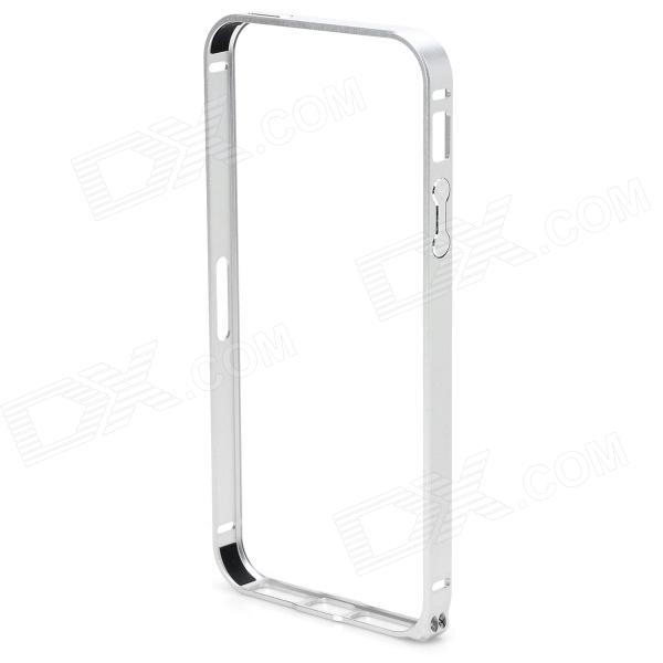 Ultra-Slim Aluminum Alloy Bumper Frame Case for IPHONE 5 / 5S - Silver