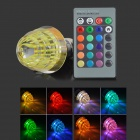 LetterFire G-003 Christmas Tree Style E27 3W 30lm 1-LED RGB Light Bulb - Yellow (AC 85~265V)