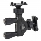 Support universel moto Bicycle Mount pour GPS + appareil photo - Noir