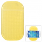 HFD Scented Car PVC Non-Slip Mat Pad - Translucent Yellow