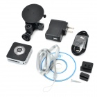"MEIEGO M10 720P 1/2.5 ""Câmara de rede IP CMOS 1.0MP Wireless / Car DVR w / TF / P2P - Preto"