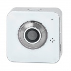 "MEIEGO M10 720P 1/2.5"" CMOS 1.0MP Wireless Network IP Camera / Car DVR  w/ TF / P2P - White"