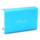 Portable External 7800mAh Power Bank for IPHONE / Samsung / HTC - Blue + White