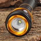 UltraFire AT-8055 LED 150lm 3-Mode White Zooming Flashlight w/ USB - Black (1 x 18650)