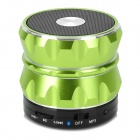 BL-19 Universal Mini Portable Bluetooth V3.0 Speaker w/ TF Card Slot - Light Green + Black