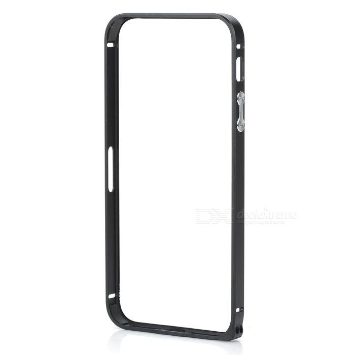 Ultra-Slim Aluminum Alloy Bumper Frame Case for IPHONE 5 / 5S - Black durable super thin aluminum alloy bumper frame case for iphone 5 5s black