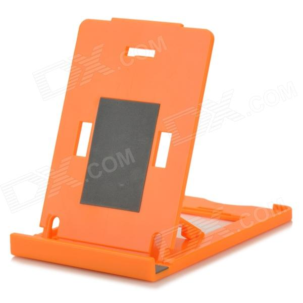 K2 Folding ABS Stand Holder for IPHONE / IPAD / IPOD - Orange portable 5 level abs stand holder for ipad 2 ipod touch 4 iphone 3g 4 purple