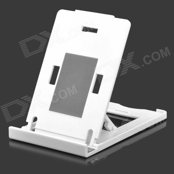 K2 Folding ABS Stand Holder for IPHONE / IPAD / IPOD - White portable 5 level abs stand holder for ipad 2 ipod touch 4 iphone 3g 4 purple