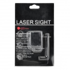 8821 Mini Red Dot Laser Sight kalibraattori 20mm Rifle (3 x AG3)