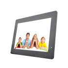 "13"" LED Full blog Desktop Digital Photo Frame w/ SD / 3.5mm / USB - Black (US Plug)"