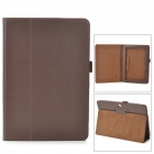 "Protective PU Leather Case w/ Auto Sleep for ASUS MeMO Pad ME102A 10"" - Brown"