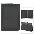 "Protective PU Leather Case w/ Auto Sleep for ASUS MeMO Pad ME102A 10"" - Black"