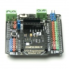 Jtron IO Sensor Expansion Board w/ Wireless Data Transmission Bluetooth Interface - Black