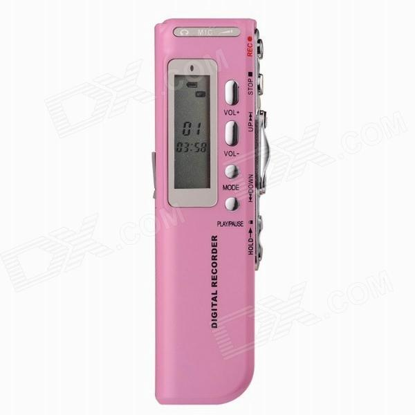 8GB Digital Voice Recorder - Pink