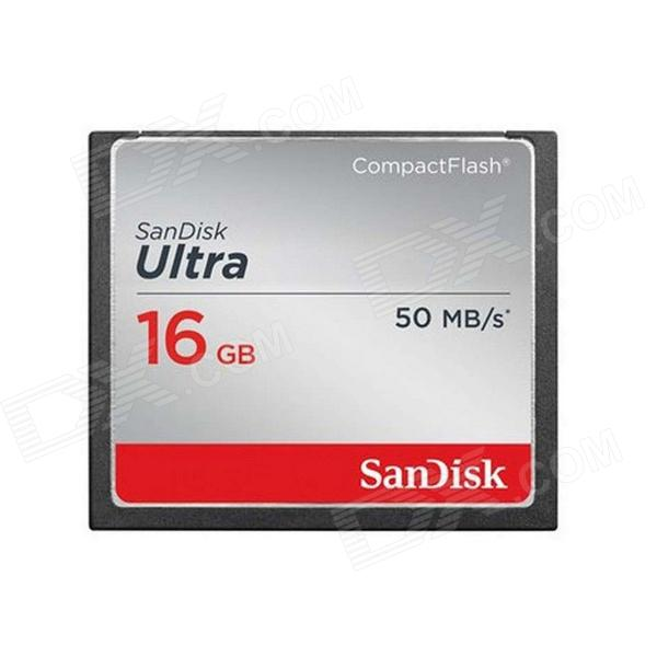 Genuine Sandisk Ultra CompactFlash CF Memory Card - 16GB (45MB/S 300X)