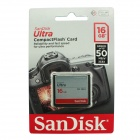 Genuine Sandisk Ultra CompactFlash CF Memory Card - 16GB (30MB/S 200X)