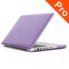 "ENKAY Crystal Hard Protective Case for MACBOOK PRO 15.4"" - Translucent Purple"