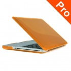 "ENKAY Crystal Hard Protective Case for Macbook Pro 15.4"" - Translucent Orange"