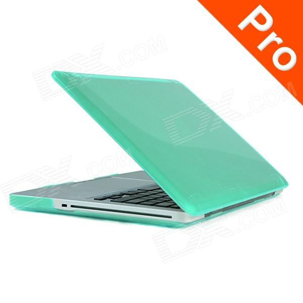 "ENKAY Crystal Hard Protective Case for Macbook Pro 15.4"" - Translucent Green"
